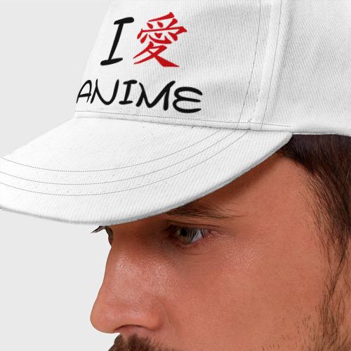 Бейсболка I love anime