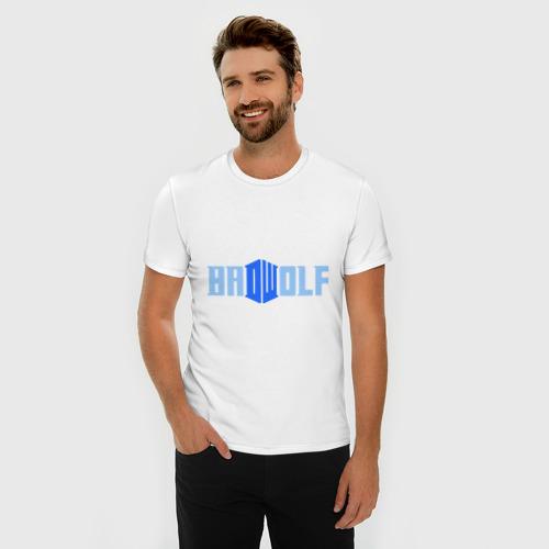 Мужская футболка премиум  Фото 03, Доктор Кто - bad wolf