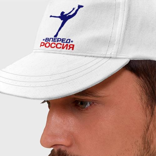 Бейсболка  Фото 01, Вперед Россия