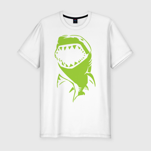 Мужская футболка премиум  Фото 01, Акула