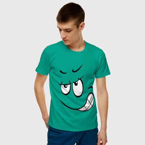 Мужская футболка хлопок  Фото 03, Хитрый смайл