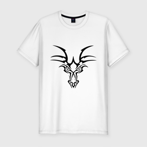 Мужская футболка премиум  Фото 01, Тату дракон