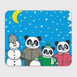 Семья - это вместе лепить снеговика