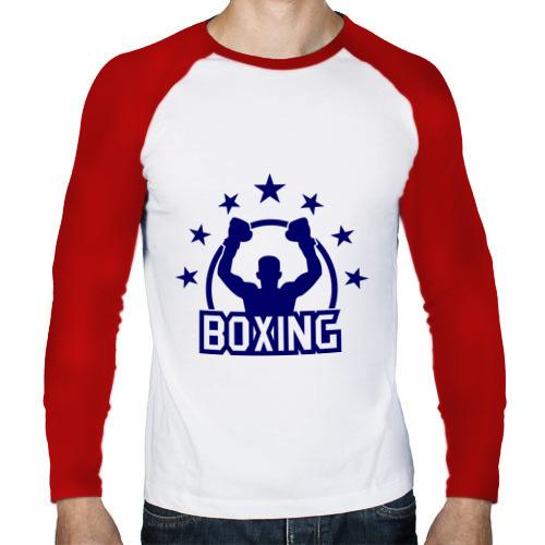 Мужской лонгслив реглан  Фото 01, Boxing (Бокс)