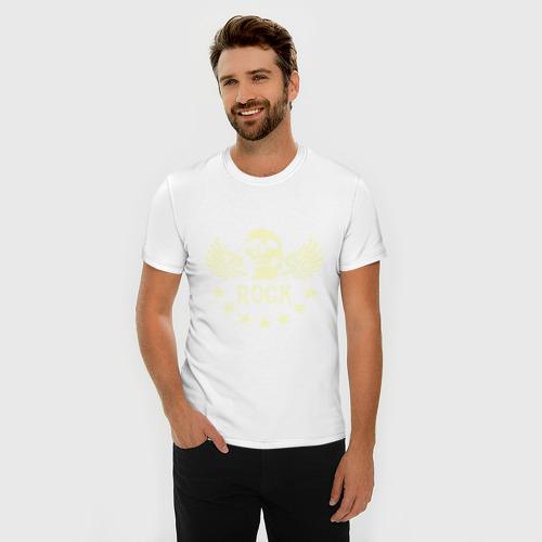 Мужская футболка премиум  Фото 03, Rock (Рок)