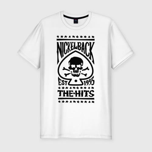 Мужская футболка премиум  Фото 01, Nickelback hits