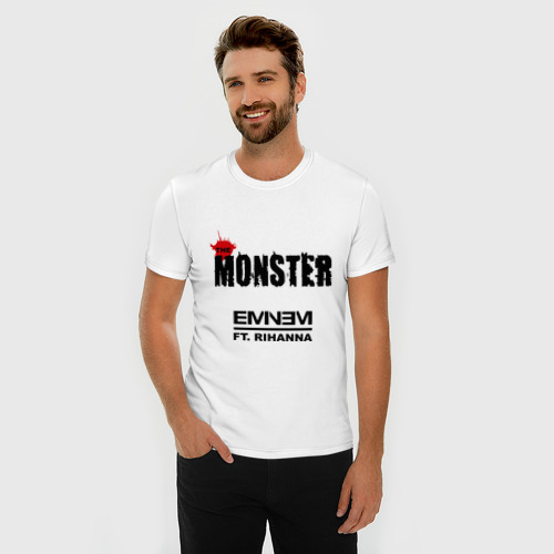 Мужская футболка премиум  Фото 03, The Monster
