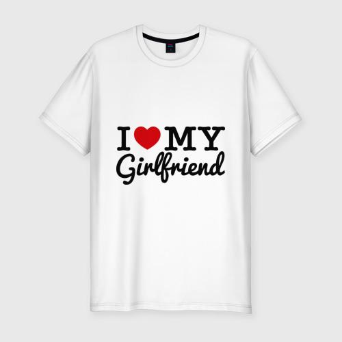 Мужская футболка премиум  Фото 01, I love my girlfriend