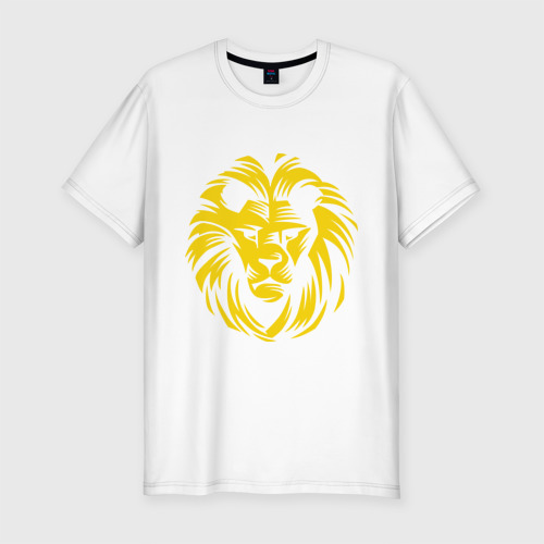 Мужская футболка премиум  Фото 01, Лев царь зверей