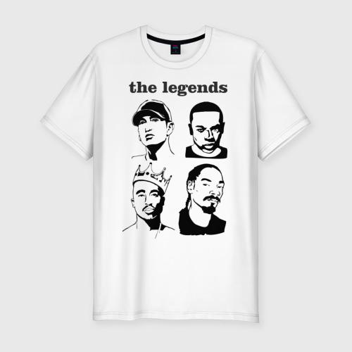 Мужская футболка премиум  Фото 01, the legends of rap