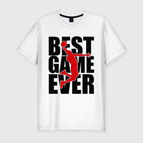 Мужская футболка премиум  Фото 01, Лучшая игра когда-либо