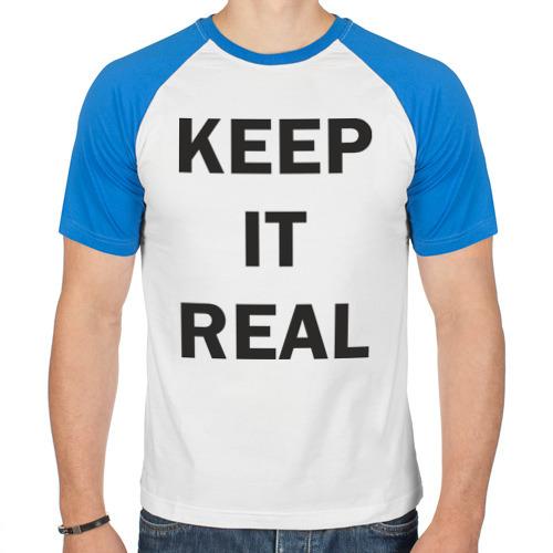Мужская футболка реглан  Фото 01, Keep It Real