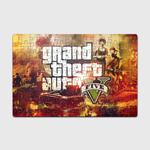 Пазл магнитный 126 элементов  Фото 01, Grand Theft Auto V (p)