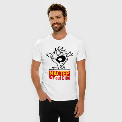 Мужская футболка премиум  Фото 03, Танки. Мастер WF auf E100