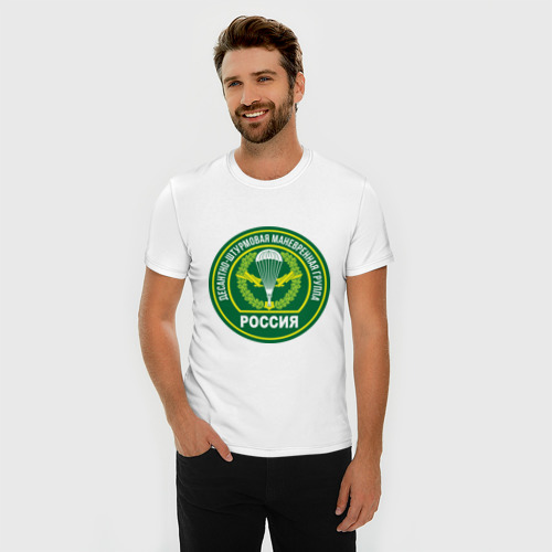 Мужская футболка премиум  Фото 03, ДШМГ