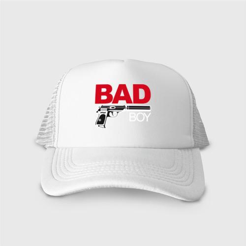 Кепка тракер с сеткой Bad boy (плохой парень) Фото 01