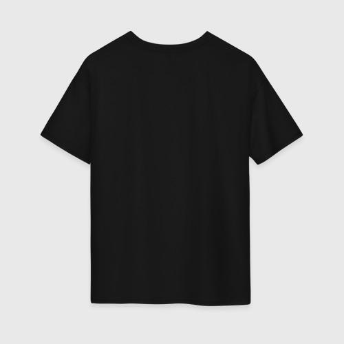 Женская футболка хлопок Oversize Сова с бантиками Фото 01