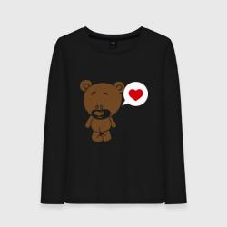 Влюбленный мишка - интернет магазин Futbolkaa.ru