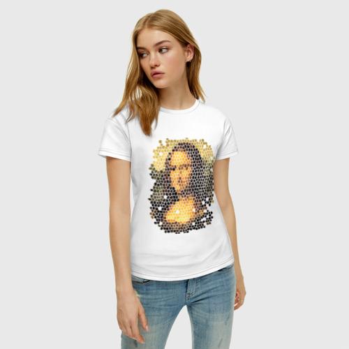 Женская футболка хлопок Mona Lisa Фото 01