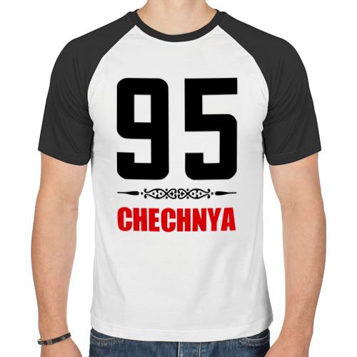 Мужская футболка реглан  Фото 01, 95 Чечня