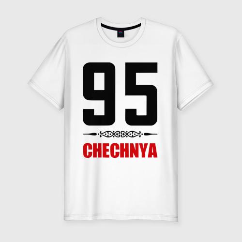 Мужская футболка премиум  Фото 01, 95 Чечня