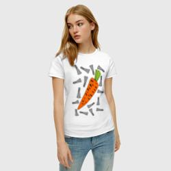 морковка и кролик парная