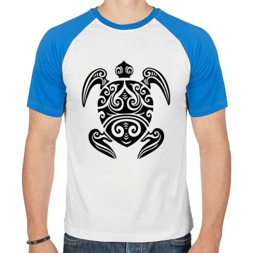 Мужская футболка реглан  Фото 01, Морская черепаха