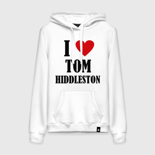Женская толстовка хлопок  Фото 01, i love tom hiddleston