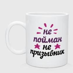 Не пойман - не призывник - интернет магазин Futbolkaa.ru