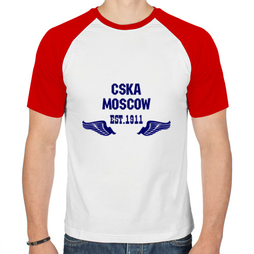 Мужская футболка реглан  Фото 01, CSKA Moscow