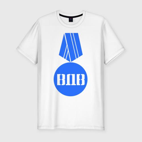 Мужская футболка премиум  Фото 01, Медаль ВДВ