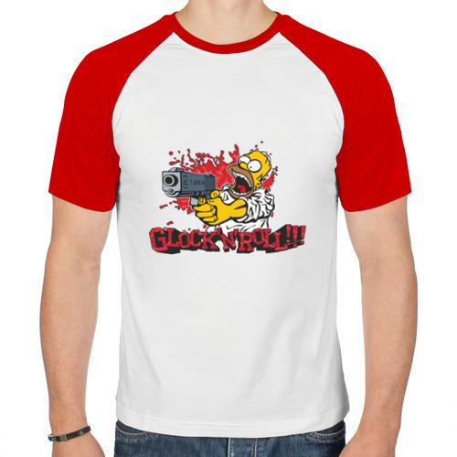 Мужская футболка реглан  Фото 01, Glock'n'roll!