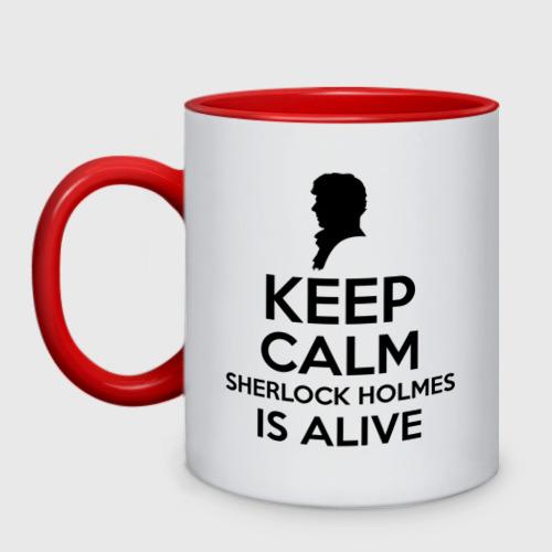 Keep calm Sherlock is alive
