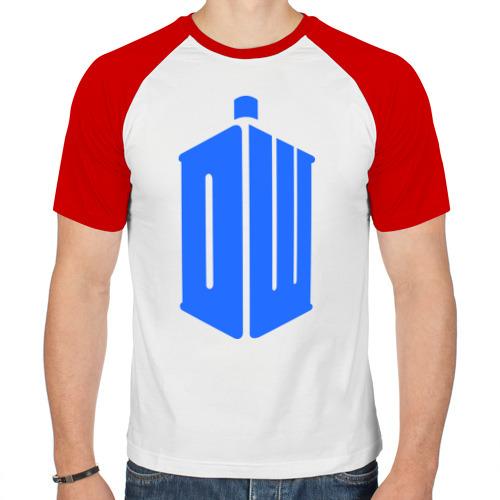 Мужская футболка реглан  Фото 01, Тардис - доктор кто