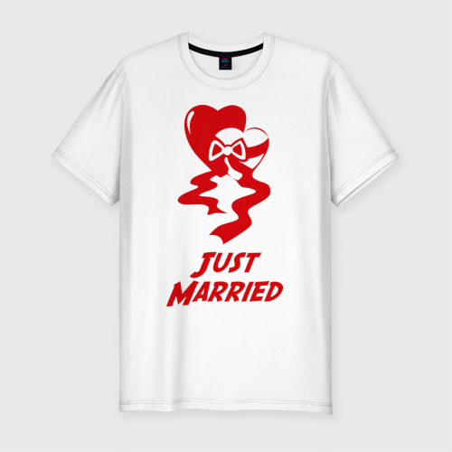 Just Married 2 hearts