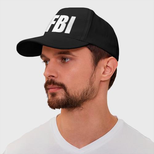 Бейсболка FBI Фото 01