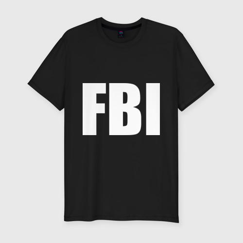 Мужская футболка премиум FBI