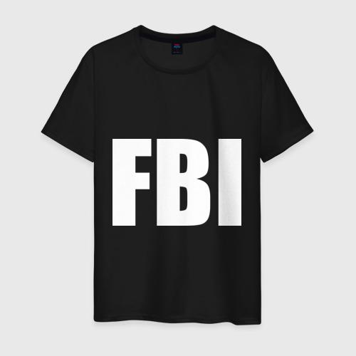 Мужская футболка хлопок FBI