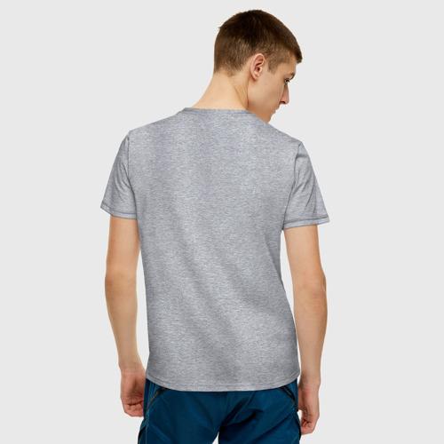 Мужская футболка хлопок В меру упитанный мужчина Фото 01
