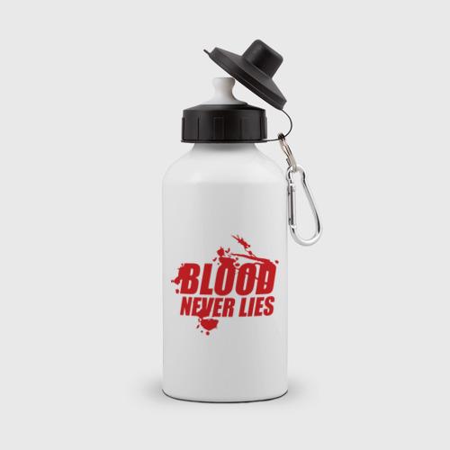 Бутылка спортивная Кровь никогда не врет