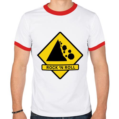 Мужская футболка рингер  Фото 01, Rock n roll stones