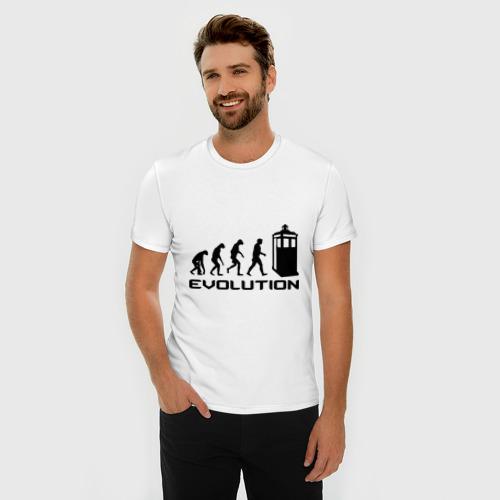 Мужская футболка премиум  Фото 03, Tardis evolution