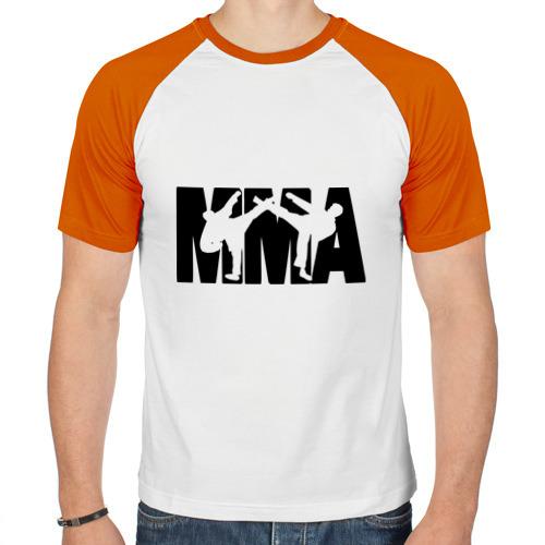 Мужская футболка реглан  Фото 01, Mixed martial arts