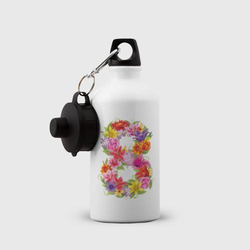 Бутылка спортивная  Фото 03, 8 марта из цветов