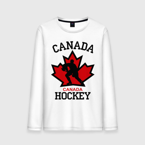 Мужской лонгслив хлопок  Фото 01, Канада хоккей (Canada Hockey)