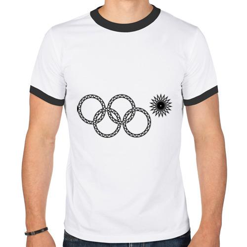 Мужская футболка рингер  Фото 01, Нераскрывшееся кольцо
