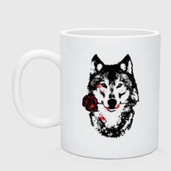 Модный дизайн - Волк и Роза