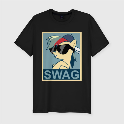 "Премиум футболка ""Rainbow Dash swag"" фото 0"