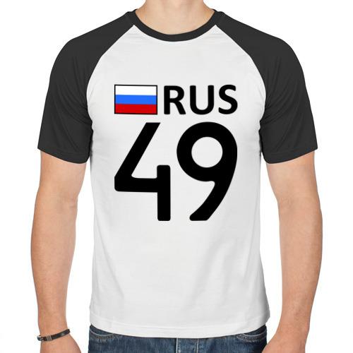 Мужская футболка реглан  Фото 01, Магаданская область (49)