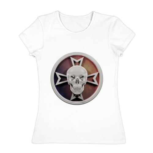 Женская футболка хлопок  Фото 01, Чёрные Храмовники (Black Templars)